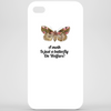 A Moth is just a Butterfly on welfare  Phone Case