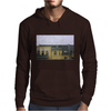a raining day in the city somewhere in Europe Mens Hoodie