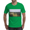 a raining day in the city somewhere in Europe Mens T-Shirt