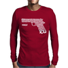 A Tribute To Pulp Fiction Mens Long Sleeve T-Shirt