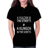 A Vulcan In The Streets A Kligon In The Sheets Womens Polo