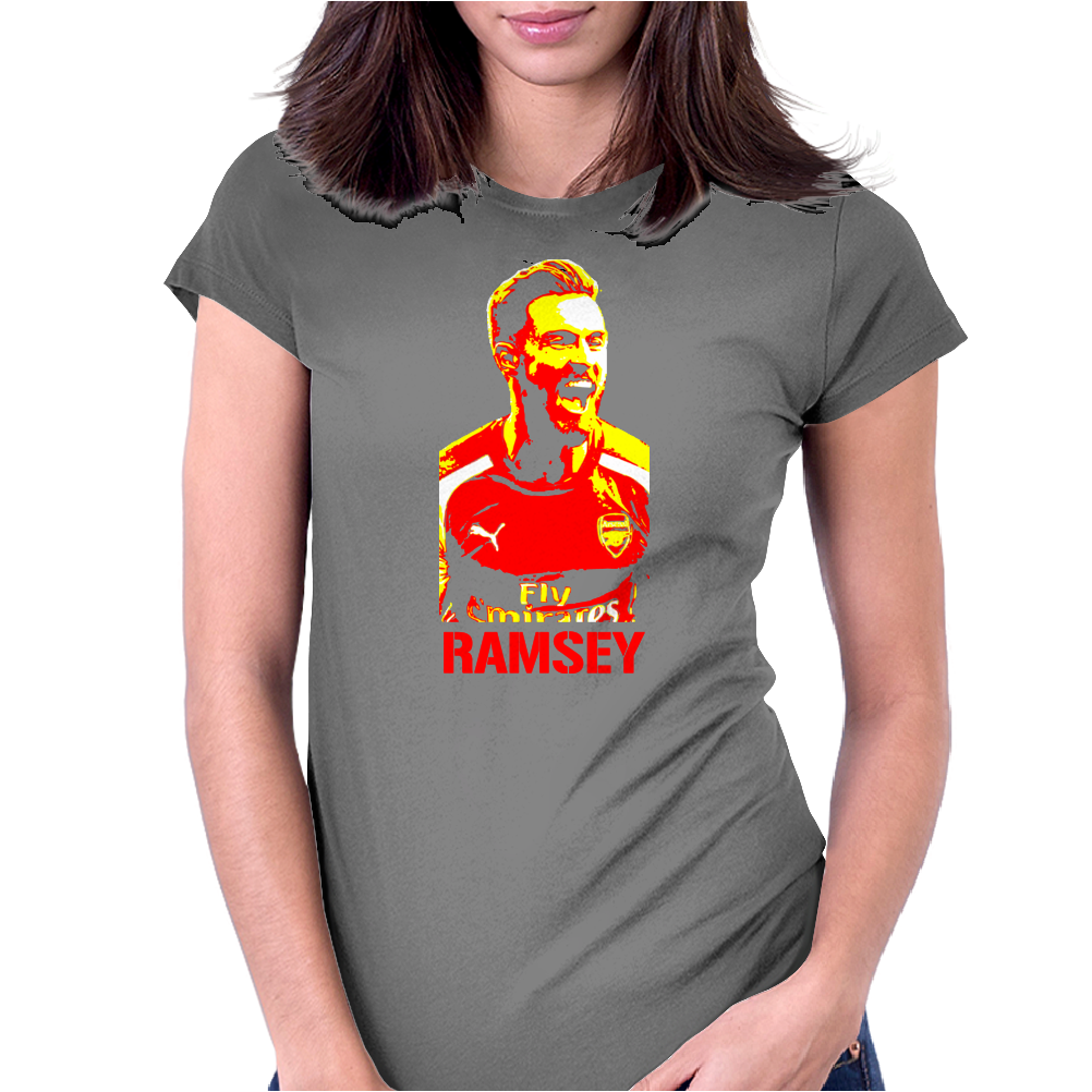 Aaron Ramsey Arsenal Womens Fitted T-Shirt
