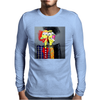 ABSTRACT  2 HEADS ARE BETTER THEN ONE Mens Long Sleeve T-Shirt