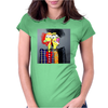 ABSTRACT  2 HEADS ARE BETTER THEN ONE Womens Fitted T-Shirt