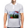 ABSTRACT ART Mens Polo