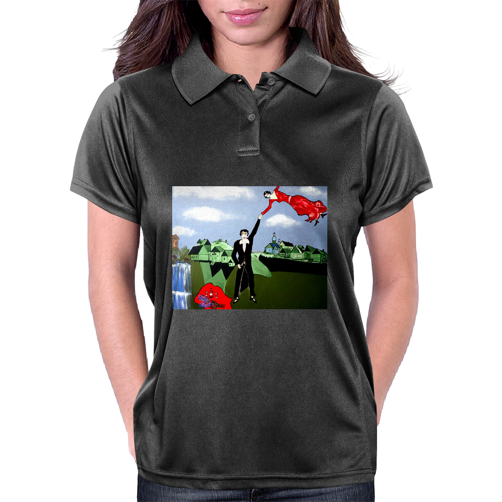 ABSTRACT ART Womens Polo