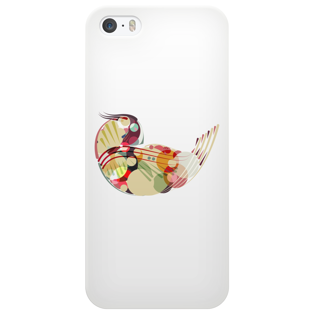 Abstract Bird 2 Phone Case