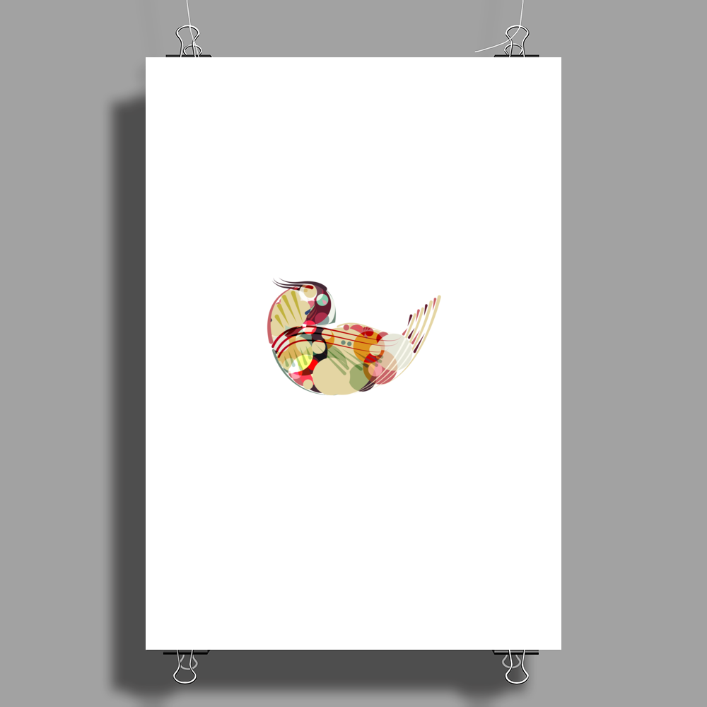 Abstract Bird 2 Poster Print (Portrait)