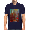 Abstract city Mens Polo