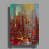 Abstract city Poster Print (Portrait)