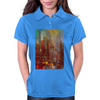 Abstract city Womens Polo