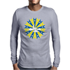 Abstract Cloudy Sky Mens Long Sleeve T-Shirt