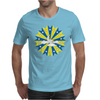 Abstract Cloudy Sky Mens T-Shirt