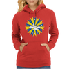 Abstract Cloudy Sky Womens Hoodie