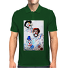 ABSTRACT  CLOWNS IN HEAVEN Mens Polo