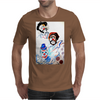 ABSTRACT  CLOWNS IN HEAVEN Mens T-Shirt