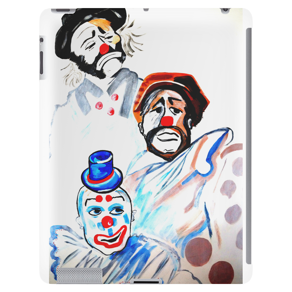 ABSTRACT  CLOWNS IN HEAVEN Tablet