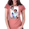 ABSTRACT  CLOWNS IN HEAVEN Womens Fitted T-Shirt