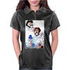 ABSTRACT  CLOWNS IN HEAVEN Womens Polo