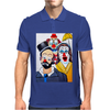 ABSTRACT CLOWNS IN SHOCK Mens Polo