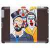 ABSTRACT CLOWNS IN SHOCK Tablet
