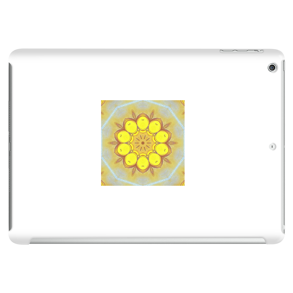 Abstract Design Featuring Yellow Tablet (horizontal)