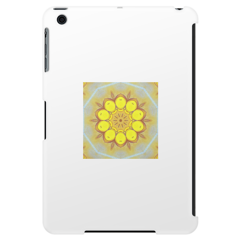 Abstract Design Featuring Yellow Tablet (vertical)