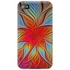 Abstract Flower Design Phone Case