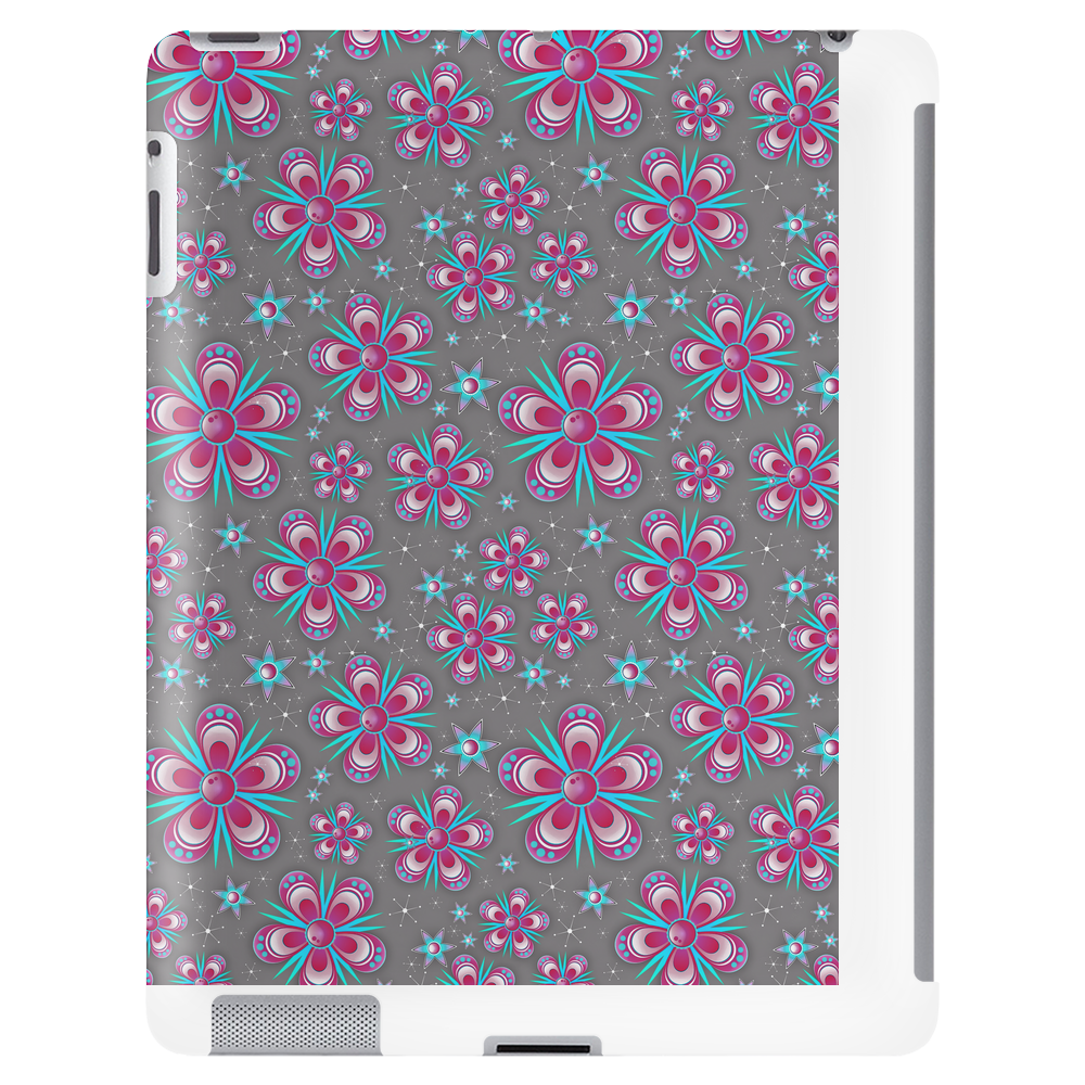 Abstract Flower Pattern Tablet