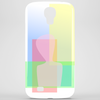 Abstract human transparent Phone Case