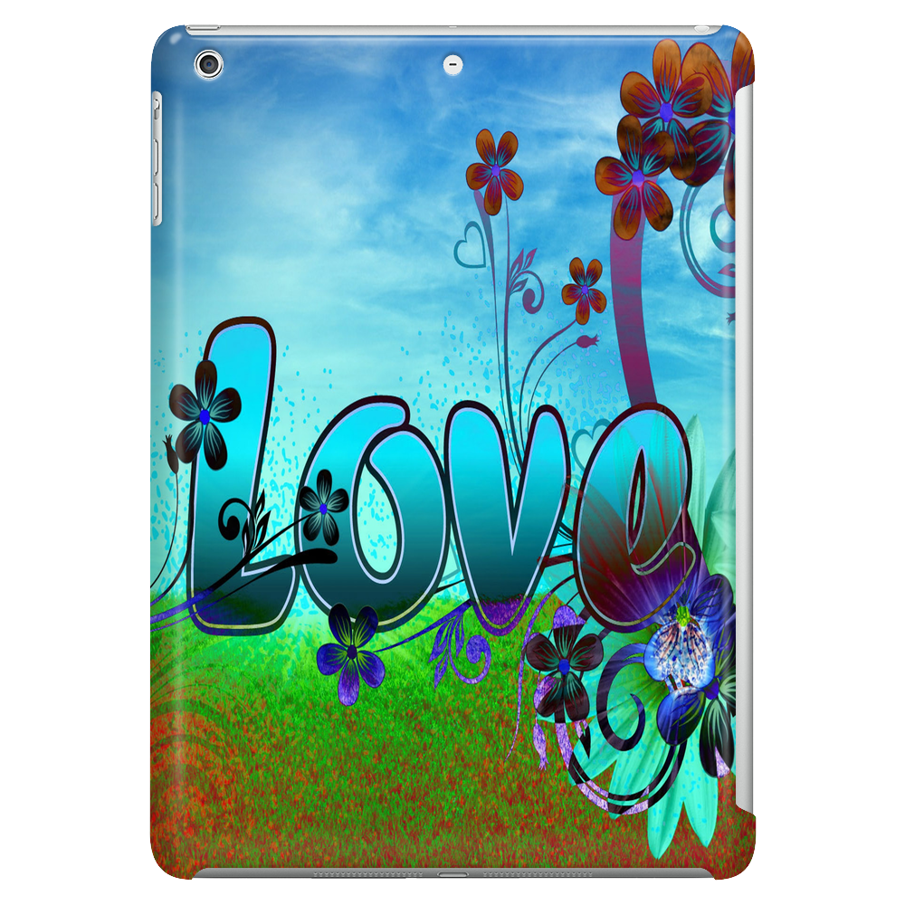 Abstract Love Tablet (vertical)