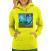 Abstract Love Womens Hoodie