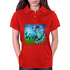 Abstract Love Womens Polo