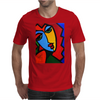 ABSTRACT  MISS TULIP Mens T-Shirt