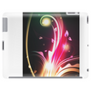 Abstract Neon Flower Design Tablet