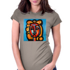ABSTRACT PICASSO Womens Fitted T-Shirt