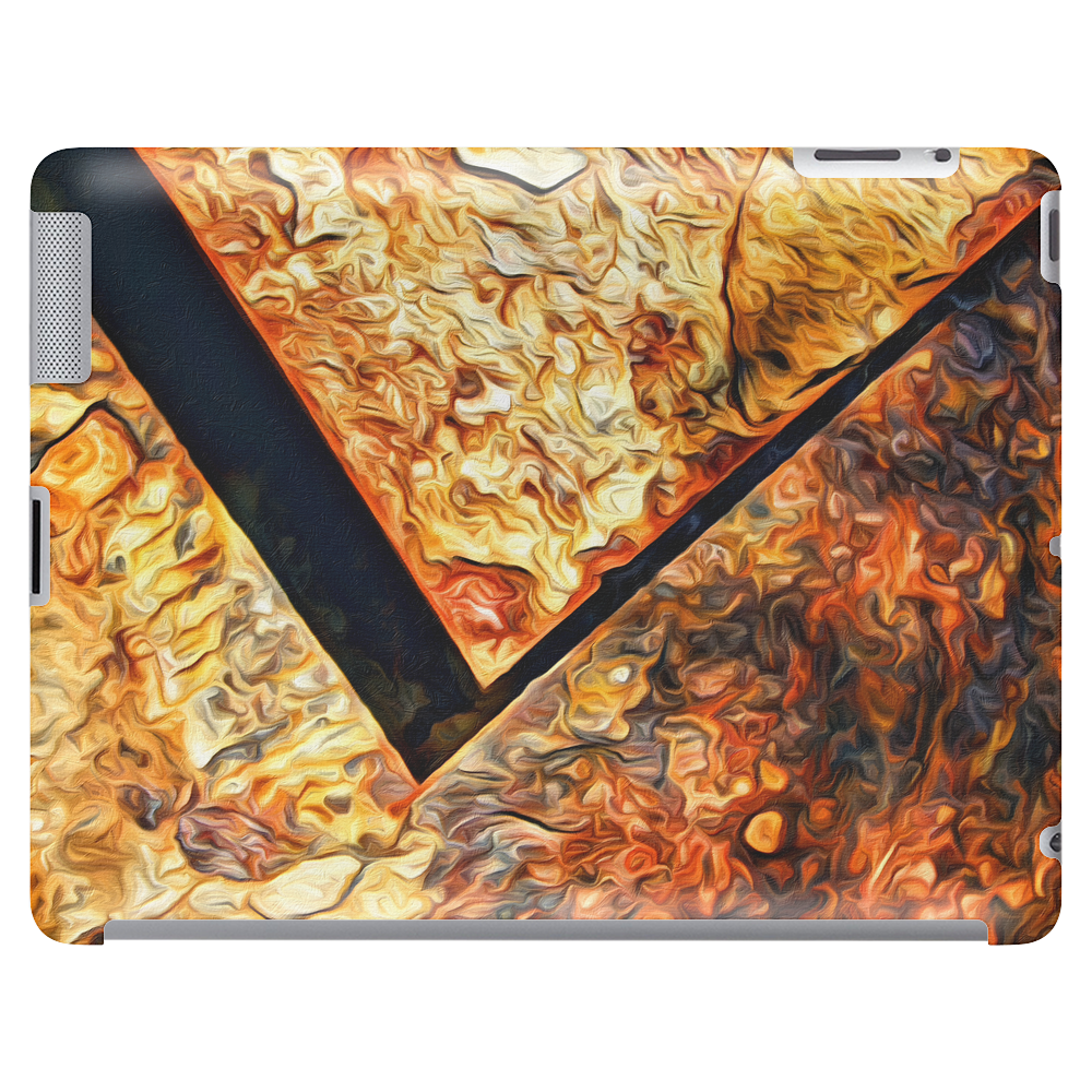 Abstract rust Tablet