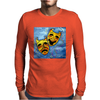 ABSTRACT,  TRAGEDY AND COMEDY Mens Long Sleeve T-Shirt