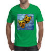 ABSTRACT,  TRAGEDY AND COMEDY Mens T-Shirt