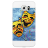 ABSTRACT,  TRAGEDY AND COMEDY Phone Case
