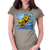 ABSTRACT,  TRAGEDY AND COMEDY Womens Fitted T-Shirt