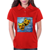 ABSTRACT,  TRAGEDY AND COMEDY Womens Polo