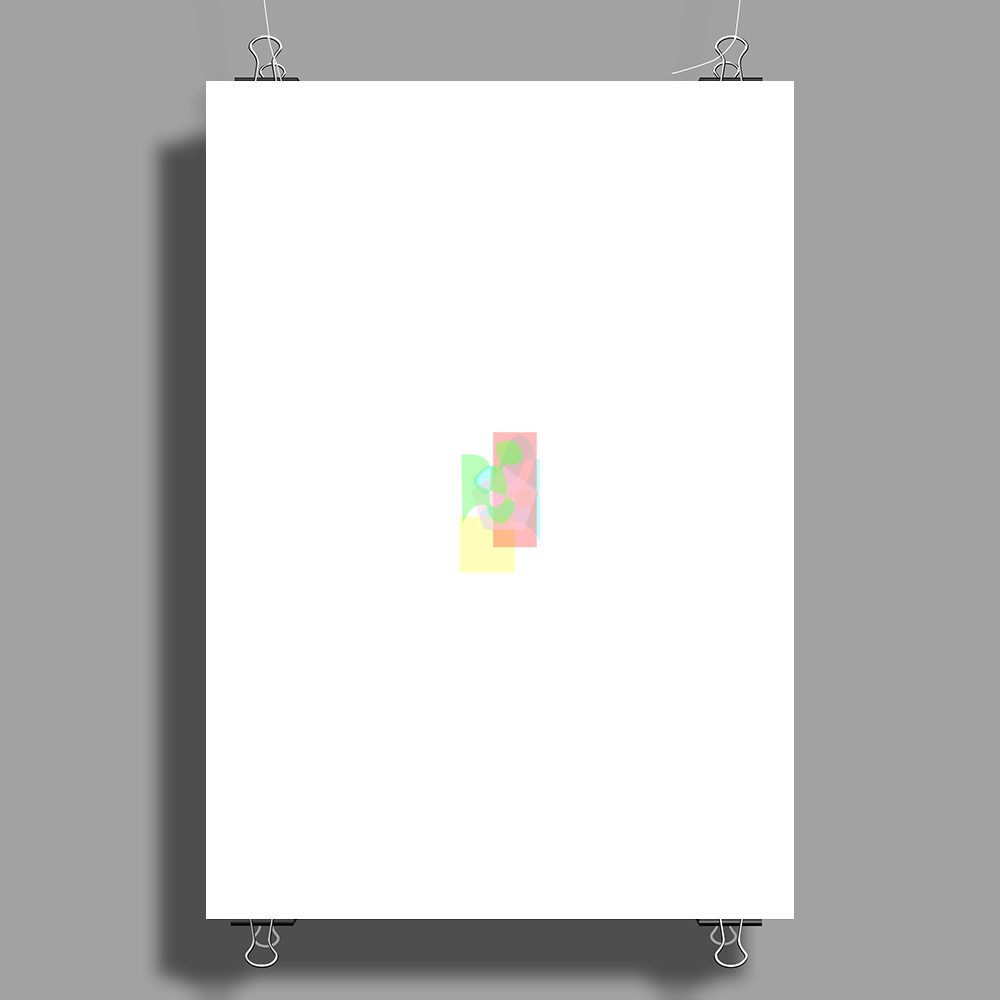 Abstract5 Poster Print (Portrait)