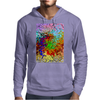 Abstractly Colorful Mens Hoodie