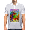 Abstractly Colorful Mens Polo