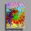 Abstractly Colorful Poster Print (Portrait)