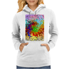 Abstractly Colorful Womens Hoodie