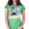 ABSTRAIT Womens Fitted T-Shirt