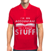 Accountants know stuff Mens Polo