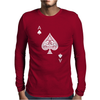 Ace of Spades Mens Long Sleeve T-Shirt